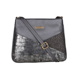 ESBEDA Medium Size Chunky Glitter Slingbag For Womens-A00100042-36,  grey