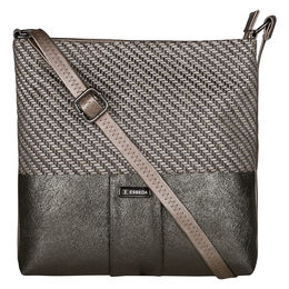 ESBEDA LADIES SLINGBAG A00100049-22,  black-gunmetal