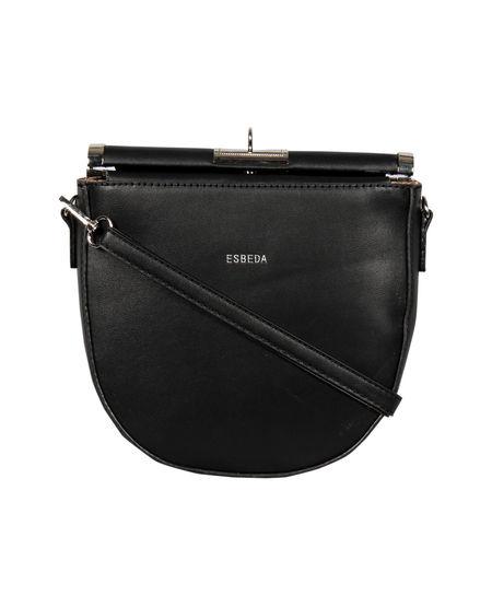 ESBEDA Small Size Solid U-Shaped Saddle Sling Bag For Women,  blue