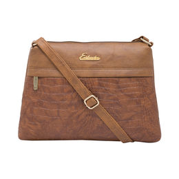 ESBEDA LADIES SLING BAG AD04052017,  tan
