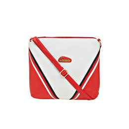 ESBEDA LADIES SLING BAG AD15082017,  white-red