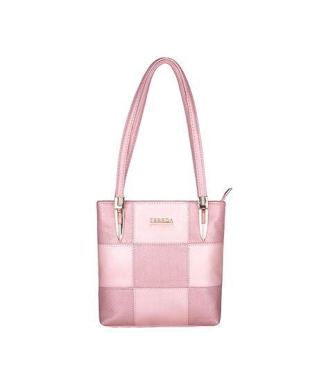 ESBEDA Medium Size Chunky Glitter Handbag For Womens-1005683,  pink