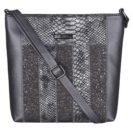 ESBEDA Animal Pattern Ziggy Ziggy Slingbag -1005447,  black