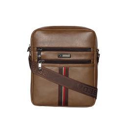 ESBEDA Solid Rodeo Crossbody Sling bag For Men,  khaki