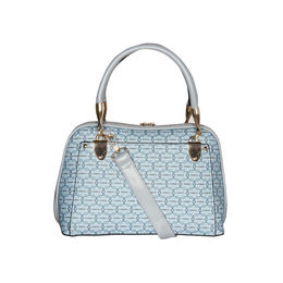 ESBEDA Printed Pattern Signature Logo handbag For Women,  blue