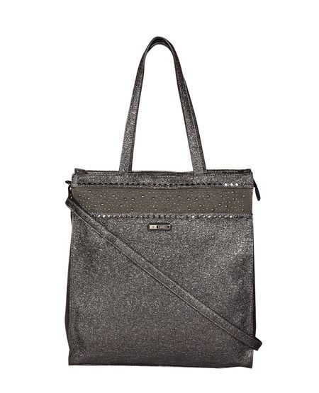 ESBEDA Big Size Sugar sparkle handbag For Women,  black