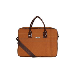 ESBEDA Stitch Line Laptop bag For mens & women,  tan