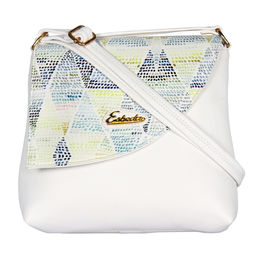 ESBEDA LADIES SLING BAG MS061016,  white