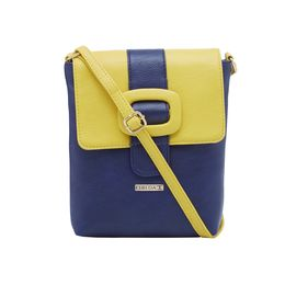 ESBEDA LADIES SLING BAG CD09122017,  d blue-yellow