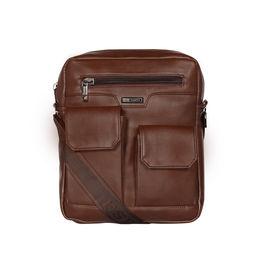 ESBEDA Solid Camaro Crossbody Sling bag For Men,  brown