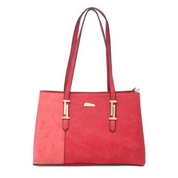 ESBEDA LADIES HANDBAG 18646,  red