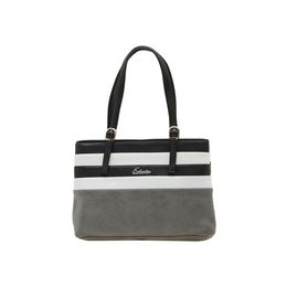 ESBEDA LADIES HANDBAG SH060417-1,  grey-white-black