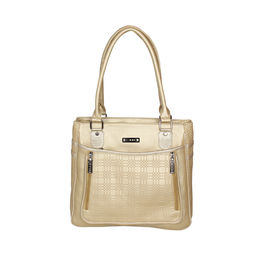 ESBEDA Solid Pattern Blissy Handbag For Women,  gold