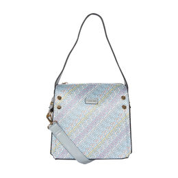 ESBEDA Printed Logo font handbag For Women,  blue