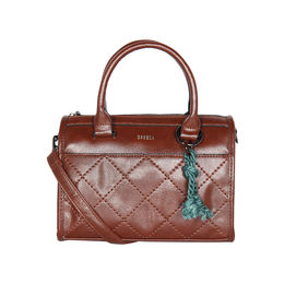ESBEDA Solid Pattern Dolce Designer Handbag For Women,  tan