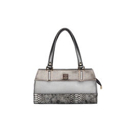 ESBEDA Solid Pattern Handbag For Women,  grey