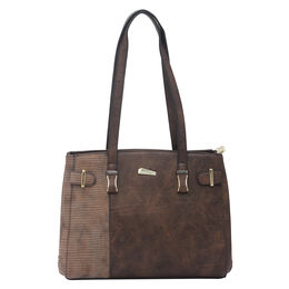 ESBEDA LADIES HANDBAG 18649,  brown