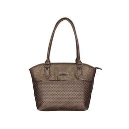ESBEDA Glitter Emboss Hand bag For women,  metallic