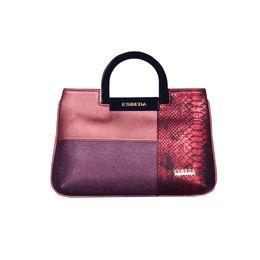 ESBEDA Medium Size Solid Cuero Armbag For Women,  maroon