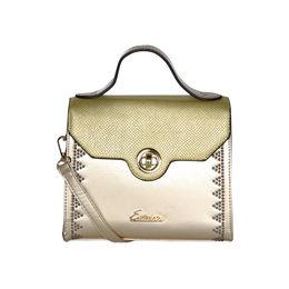 ESBEDA Solid Pattern Fontanelli Glitter handbag For Womens,  gold