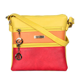 ESBEDA LADIES SLING BAG MA220916,  yellow