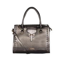 ESBEDA Solid Pattern stud sparkle Handbag For Womens,  grey