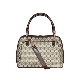 ESBEDA Printed Pattern Signature Logo handbag For Women,  khaki
