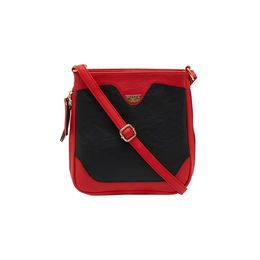 ESBEDA LADIES SLING BAG AS070417-1,  black-red
