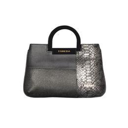 ESBEDA Medium Size Solid Cuero Armbag For Women,  grey