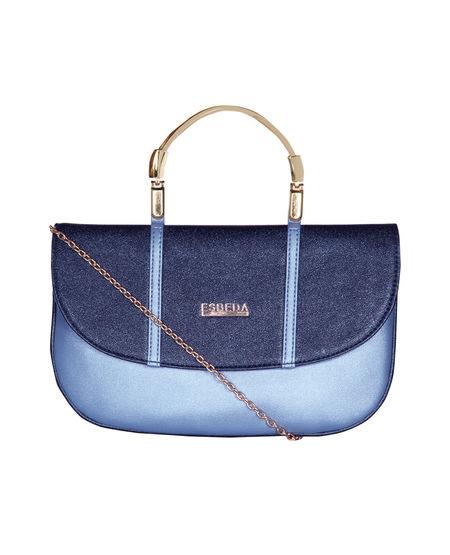 ESBEDA Small Spectacular Envelope Armbag For Women,  blue
