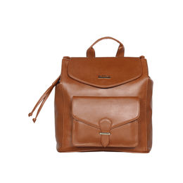 ESBEDA Magnet Closure Taslan Covertible Backpack For Women,  tan