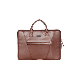 ESBEDA Solid Laptop Sleeve For Mens and womens,  brown