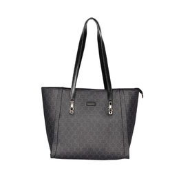 ESBEDA Printed Pattern Signature Logo handbag For Women,  black