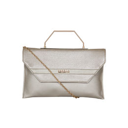 ESBEDA Small Glitter Envelope Armbag For Women,  silver