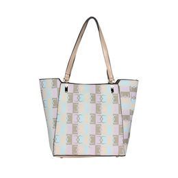 ESBEDA Logo Print pattern Handbag For Women,  beige