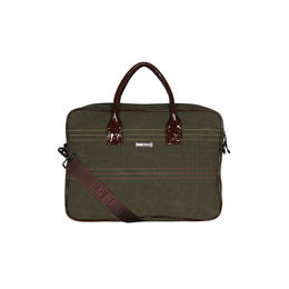 ESBEDA Stitch Line Laptop bag For mens & women,  green
