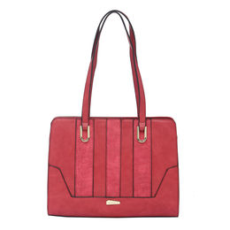 ESBEDA LADIES HANDBAG 18645,  red