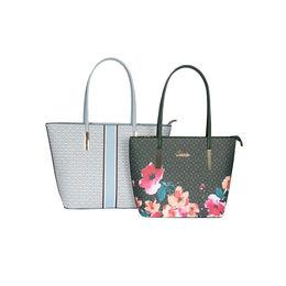 ESBEDA Printed Pattern Graphic Combo Handbag For Women,  blue