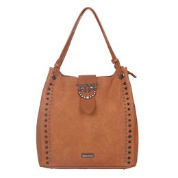 ESBEDA LADIES TOTEBAG L2982,  d brown
