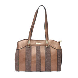 ESBEDA LADIES HANDBAG 18642,  coffee