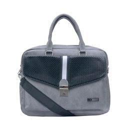 ESBEDA Solid Pattern Clipart Flap Laptop Bag 001005292,  grey
