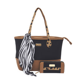 ESBEDA Ladies Handbag G-128-13,  black