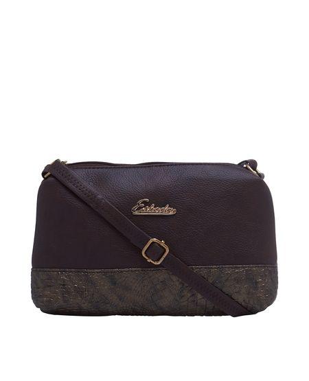 ESBEDA LADIES SLING BAG ES08122017,  d brown