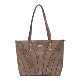 ESBEDA LADIES HANDBAG 18721,  coffee