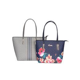 ESBEDA Printed Pattern Graphic Combo Handbag For Women,  grey