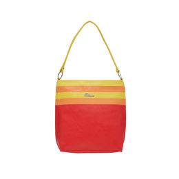 ESBEDA LADIES HANDBAG SA14102017,  red-orange-yellow