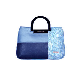 ESBEDA Medium Size Solid Cuero Armbag For Women,  blue