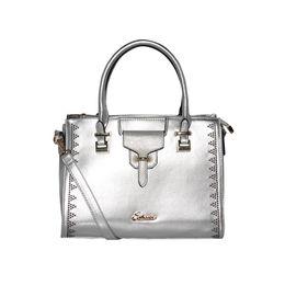 ESBEDA Solid Pattern stud sparkle Handbag For Womens,  silver
