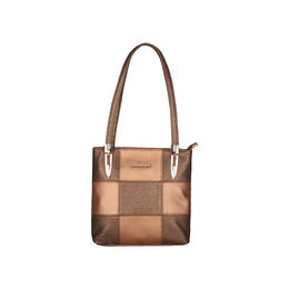 ESBEDA Medium Size Chunky Glitter Handbag For Womens-1005681,  copper