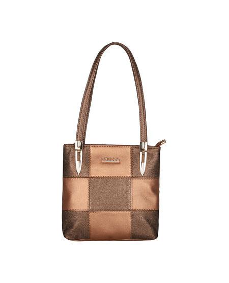 ESBEDA Medium Size Chunky Glitter Handbag For Womens-1005681,  copper